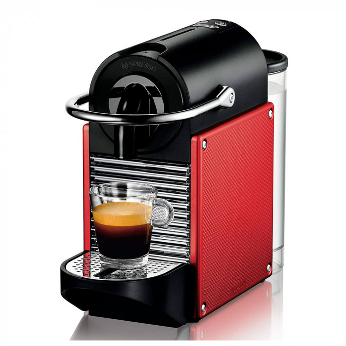 "Ekspres do kawy Nespresso ""Pixie Dark Red"""