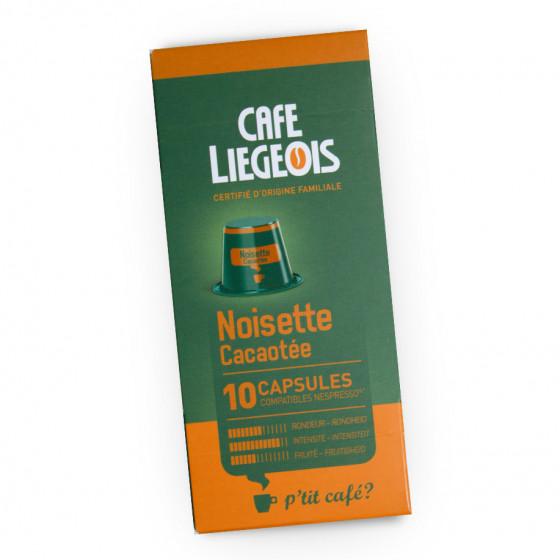 "Kavos kapsulės Café Liégeois ""Noisette"", 10 vnt."
