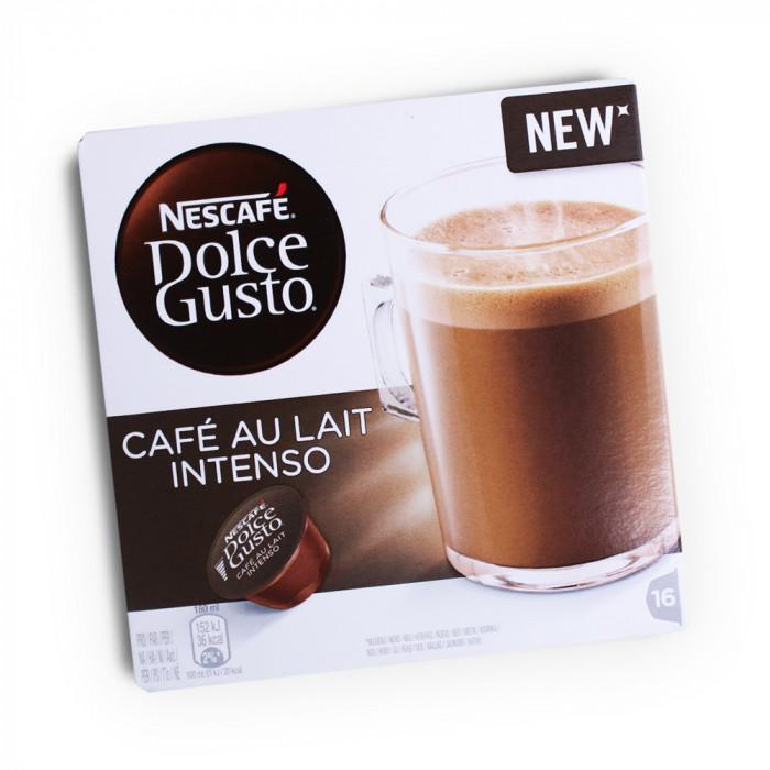 """Coffee capsules NESCAFÉ Dolce Gusto """"Café Au lait Intenso"""", 16 pcs."""