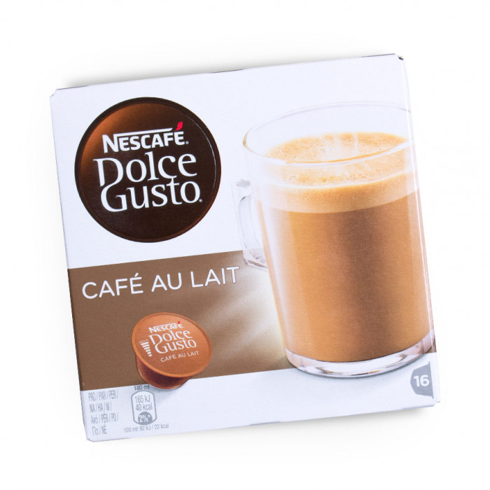 "Kafijas kapsulas NESCAFÉ Dolce Gusto ""Café Au lait"", 16 gab."