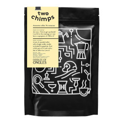"""Coffee beans Two Chimps """"Oodles of Ongles"""", 250 g"""