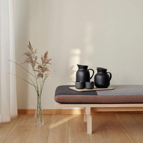 """Isolierkanne Stelton """"Amphora Soft Black"""", 1 l"""