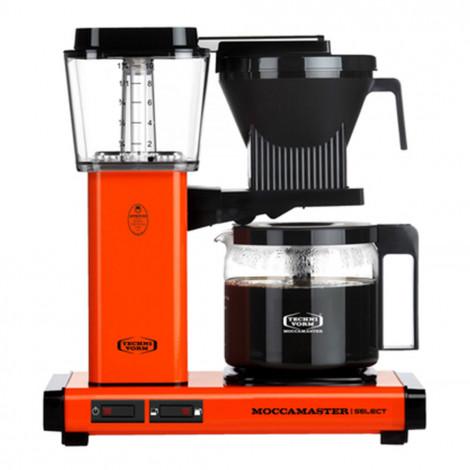 "Ekspozīcijas filtru kafijas automāts Moccamaster ""KBG741 Select Orange"""