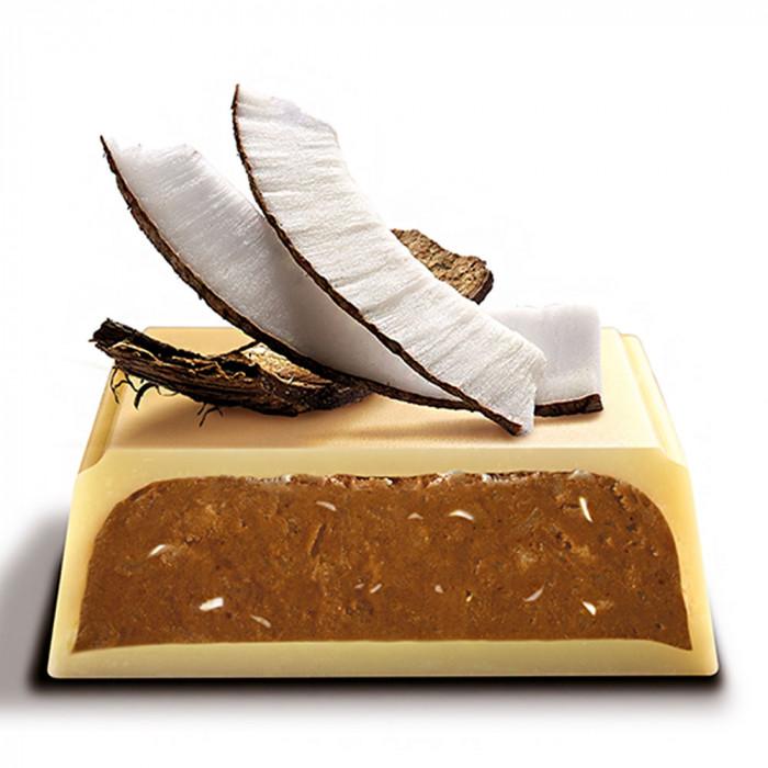 """Šokoladinis batonėlis Galler """"White coconut"""", 70 g"""