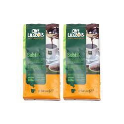"""Jahvatatud kohvi komplekt """"Subtil"""", 2 x 250 g"""