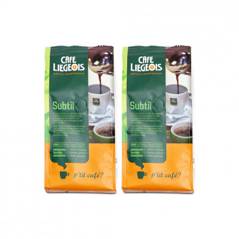 """Set gemalen koffie """"Subtil"""", 2 x 250 g"""
