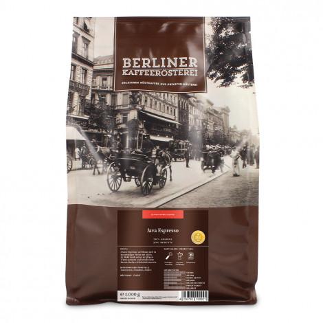 "Kaffeebohnen Berliner Kaffeerösterei ""Java Espresso"", 1 kg"