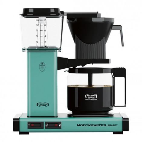 """Ekspozīcijas filtrētu kafijas automāts """"KBG 741 Select Turquoise"""""""