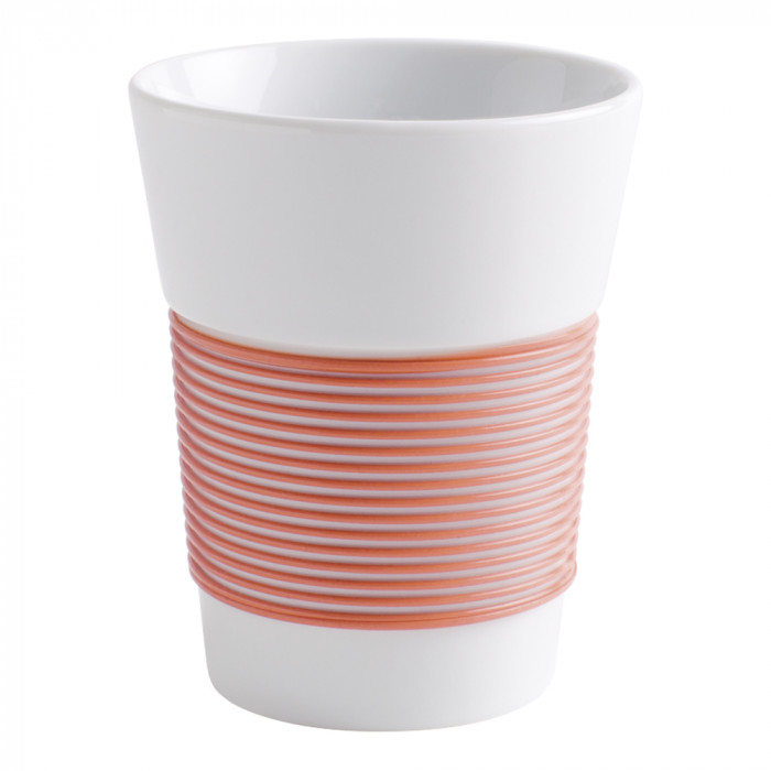 "Coffee cup Kahla ""Cupit to-go Coral Sunset"", 350 ml"
