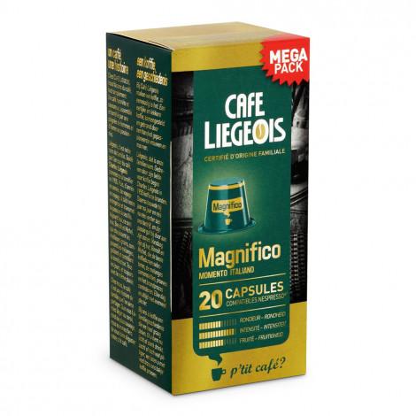 "Kohvikapslid Café Liégeois ""Magnifico"", 20 tk."