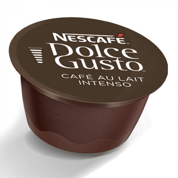 "Kafijas kapsulas NESCAFÉ Dolce Gusto ""Café Au lait Intenso"", 16 gab."