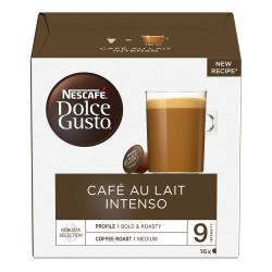 "Kafijas kapsulas Dolce Gusto® automātiem NESCAFÉ Dolce Gusto ""Café au Lait Intenso"", 16 gab."