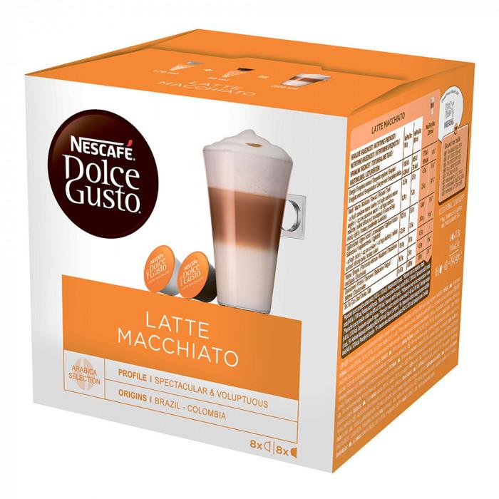 """Kawa w kapsułkach NESCAFÉ Dolce Gusto """"Latte Macchiato"""", 8×8 szt."""