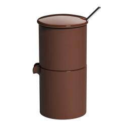 """Zuckerschüssel mit Milchbehälter Loveramics """"Bond Brown"""", 90 ml"""