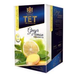"""Tea True English Tea """"Ginger & Lemon"""", 20 pcs."""
