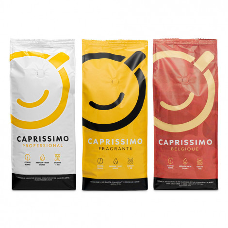 """Kavos pupelių rinkinys """"Caprissimo Trio"""", 3 kg"""