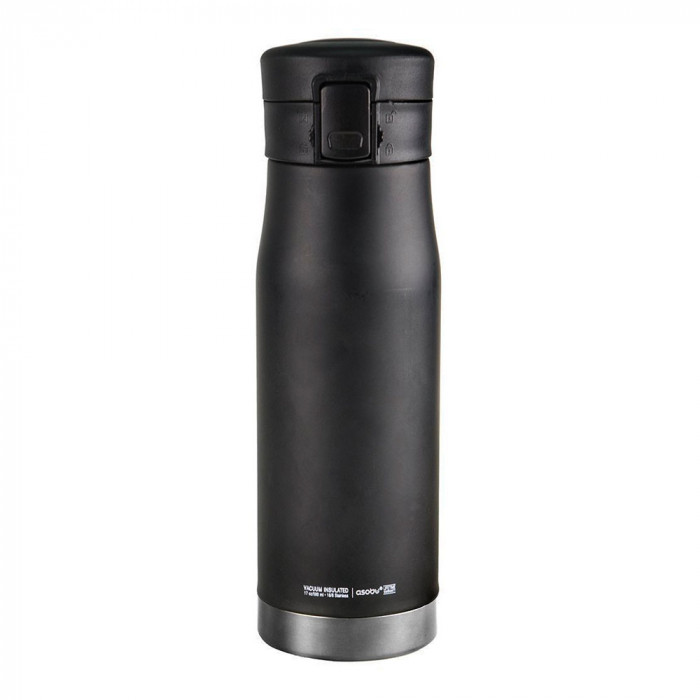 "Thermo cup Asobu ""Liberty Canteen Black/Silver"", 500 ml"