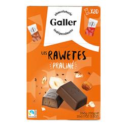 """Pralinen Set Galler """"Les Rawetes – Praline"""",  20 Stk. (100 g)"""