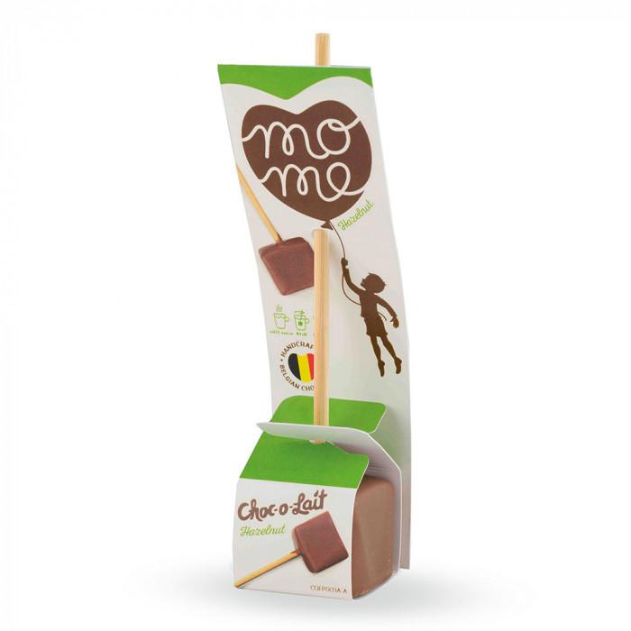 """Kuum šokolaad MoMe """"Flowpack Hazelnut"""", 40 g"""