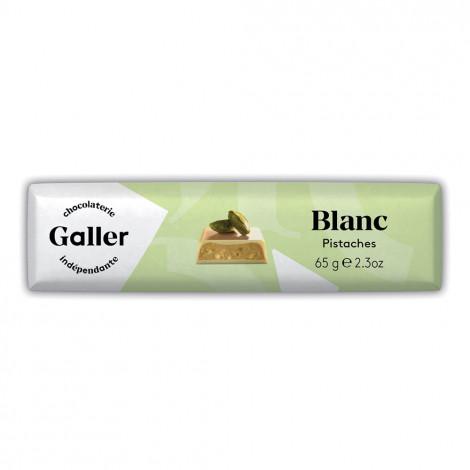 "Šokolaadibatoon Galler ""White Pistachios"", 70 g"