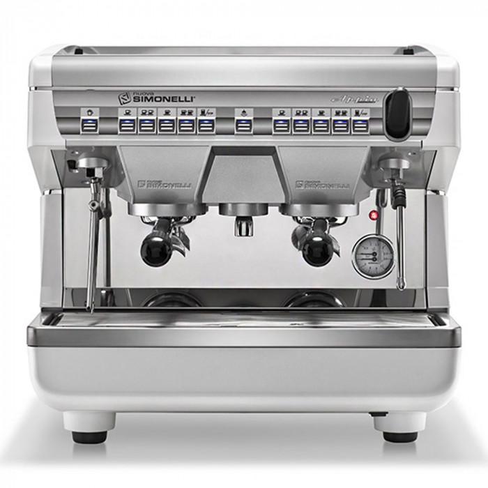 """Kavos aparatas Nuova Simonelli """"Appia 2 Compact"""" dviejų grupių"""