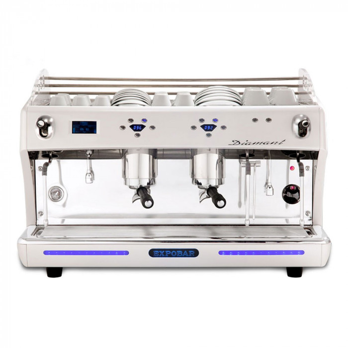"Coffee machine Expobar ""Diamant PID Glass"" two groups"