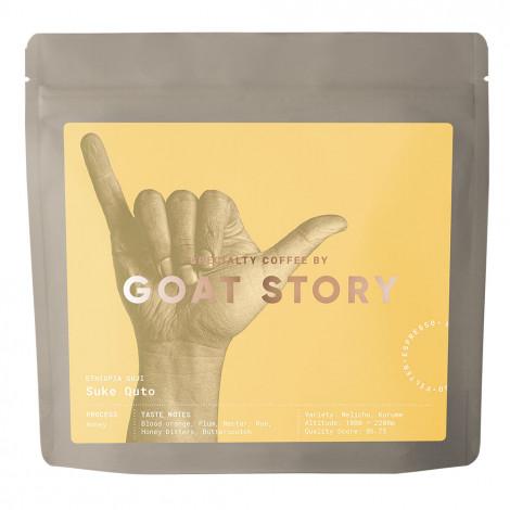 """Sortenreine Kaffeebohnen Goat Story """"Ethiopia Suke Quto Honey"""", 250 g"""