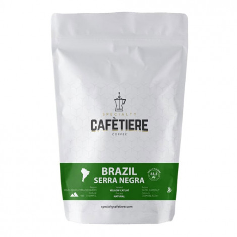 """Coffee beans Specialty Cafétiere """"Brazil Serra Negra"""", 2×250 g"""