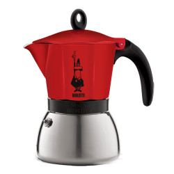 "Kavavirė Bialetti ""Moka Induction 6 cups Red"""