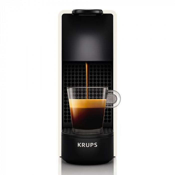 kaffeemaschine krups essenza mini xn110 white kaffee kumpeln. Black Bedroom Furniture Sets. Home Design Ideas