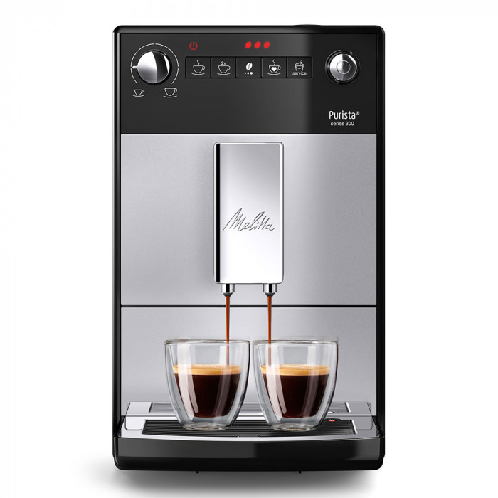 "Ekspres do kawy Melitta ""Purista Series 300 Silver"""