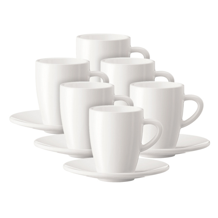 Coffee cup with a plate JURA (6 pc)