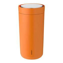 "Thermo cup Stelton ""To Go Click Soft Orange"", 400 ml"