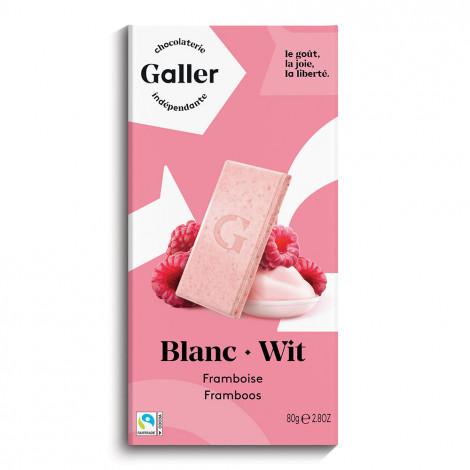 """Schokoladentafel Galler ,,White Raspberry"""" 80 g"""