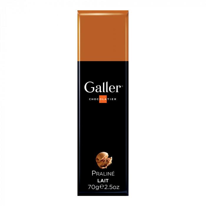 """Batonik czekoladowy Galler """"Milk Praliné"""", 1 szt."""