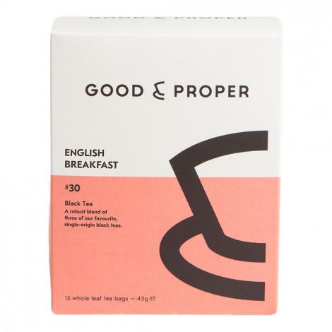 "Tea Good & Proper ""English Breakfast"", 15 pcs."