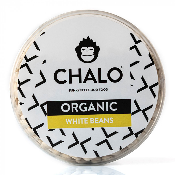 Ekologiškos baltosios pupelės (vidutinio dydžio) Chalo, 400 g