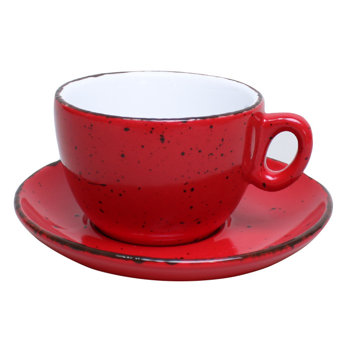 "Kaffee Tasse Inker ""Iris Dots Red"", 170 ml"