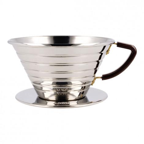 "Edelstahl Kaffee-Tropfer Kalita ""Wave #185"""