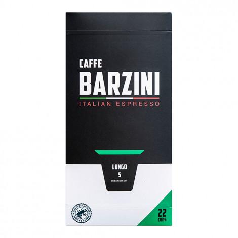 "Kohvikapslid sobivad Nespresso® masinatele Caffe Barzini ""Lungo"", 22 tk."