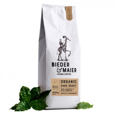 """Kaffeebohnen Bieder & Maier """"ORGANIC DARK ROAST"""", 1 kg"""