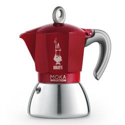 "Kawiarka Bialetti ""New Moka Induction 6-cup Red"""