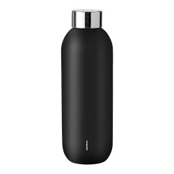 "Wasserflasche Stelton ""Keep Cool Black"", 0,6 l"