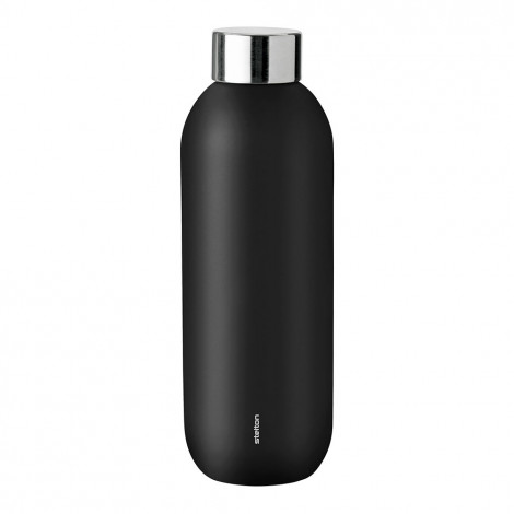 "Ūdens pudele Stelton ""Keep Cool Black , 0,6 l"
