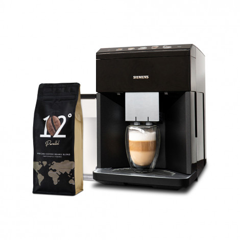 "Kaffeemaschine-Set Siemens ""TQ505R09 + Parallel 12"""