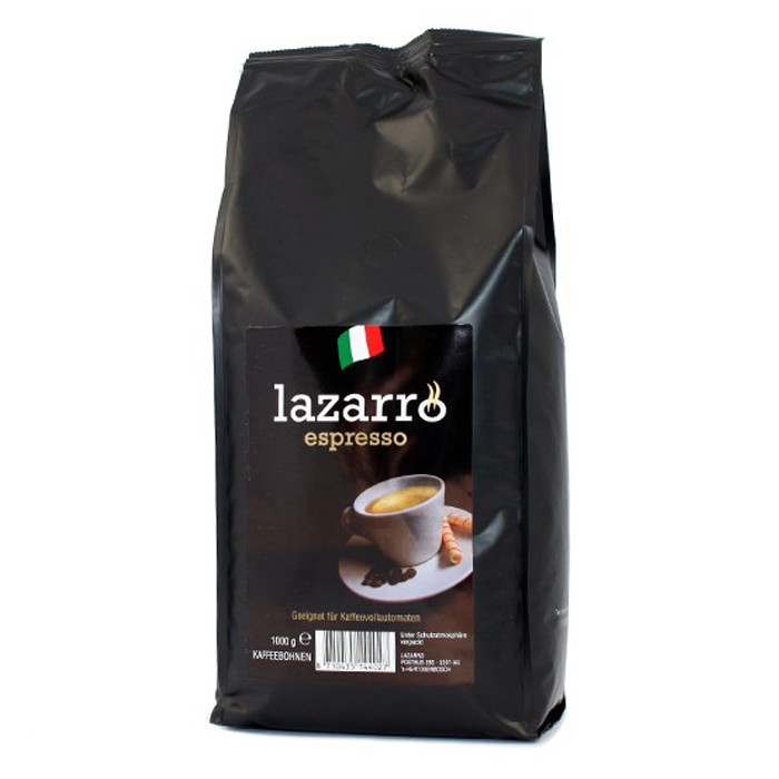 "Kavos pupelės Lazarro ""Espresso"" 1kg."
