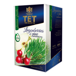 "Tea True English Tea ""Lingonberry & Pine"", 20 pcs."