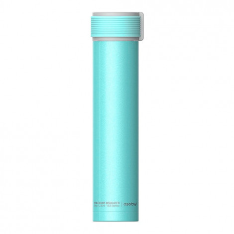 "Termospudel Asobu ""Skinny Mini Teal"", 230 ml"