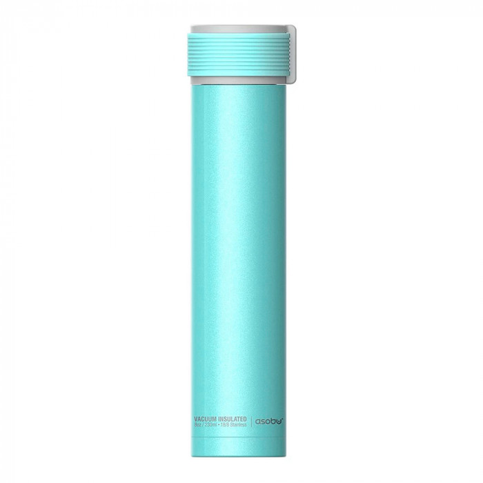 "Thermo krūze Asobu ""Skinny Mini Teal"", 230 ml"