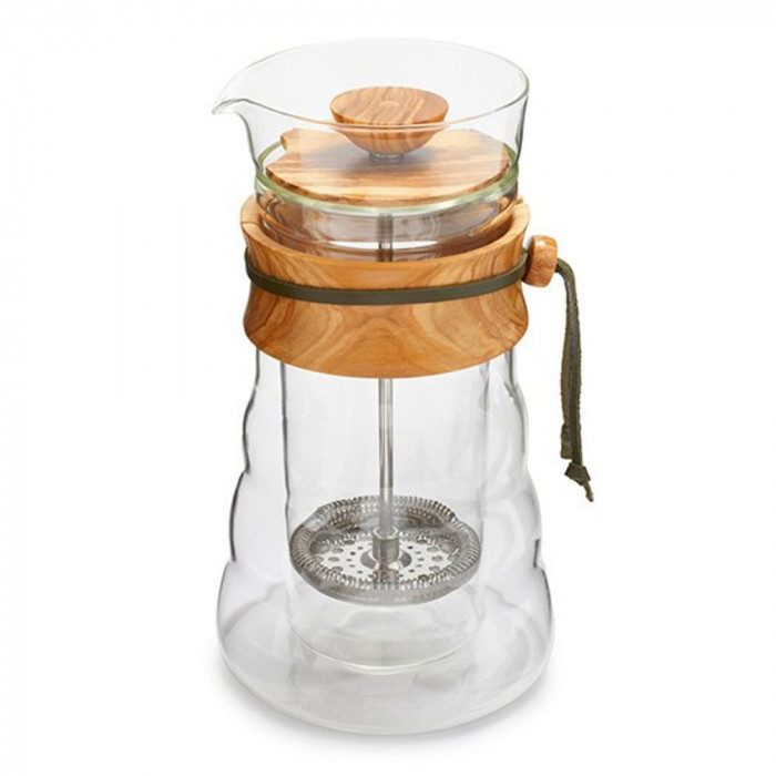 "Kaffeebereiter Hario ""Cafe Press Olive Wood"", 600 ml"